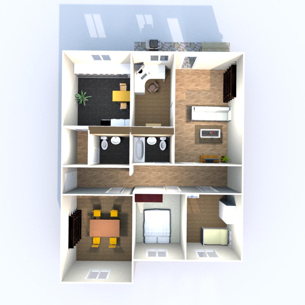 Wohnfläche 101,27 qm