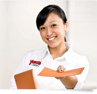 Yoko Sushi Bewerbung