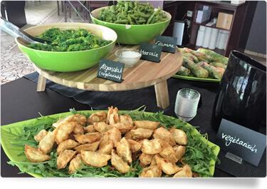 Yoko Sushi natuerlich auch vegetarisch