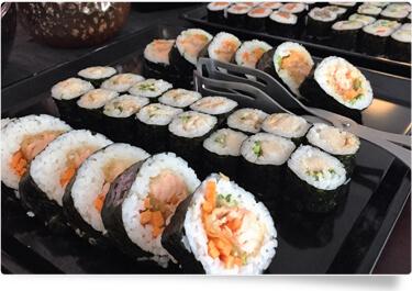 Yoko Sushi Fisch und ohne Fisch
